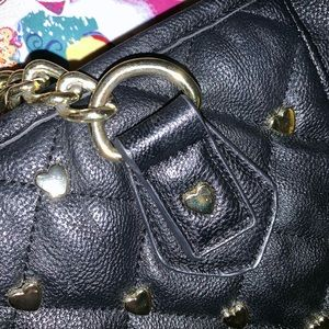 Betsey Johnson Bags - Betsey Johnson Hearts purse
